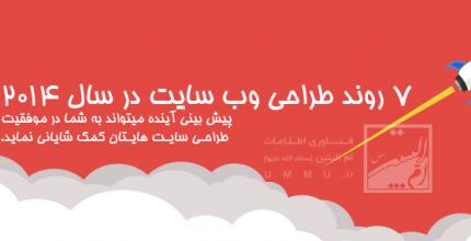 7 روند طراحی وب سایت که در سال 2014 خواهید دید | قسمت دوم
