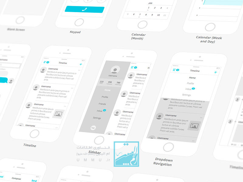 تفاوت UI با UX در طراحی وب سایت چیست